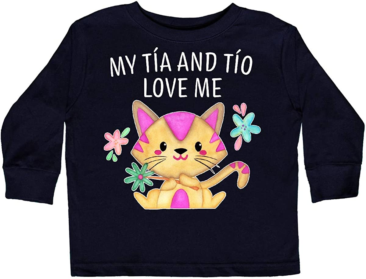 inktastic My T/ía Loves Me Cute Crab Family Baby T-Shirt