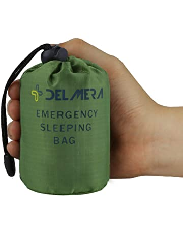 Camp Sleeping Gear Symbol Of The Brand Emergency Survival Sleeping Bag Easy Heat Insulation Compact Outdoor First Aid Gear Waterproof Bivy Sack For Camping Hiking Ba Easy And Simple To Handle