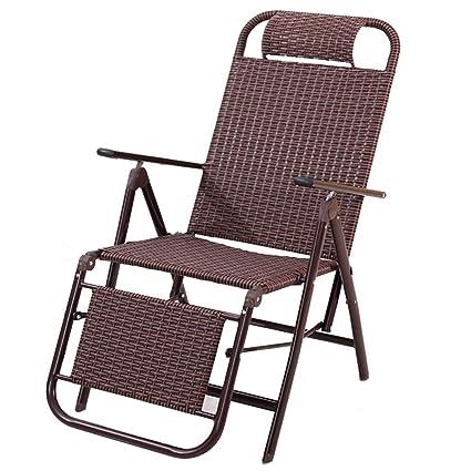 Magnificent Amazon Com Khl New Three Fold Rattan Folding Chair Machost Co Dining Chair Design Ideas Machostcouk