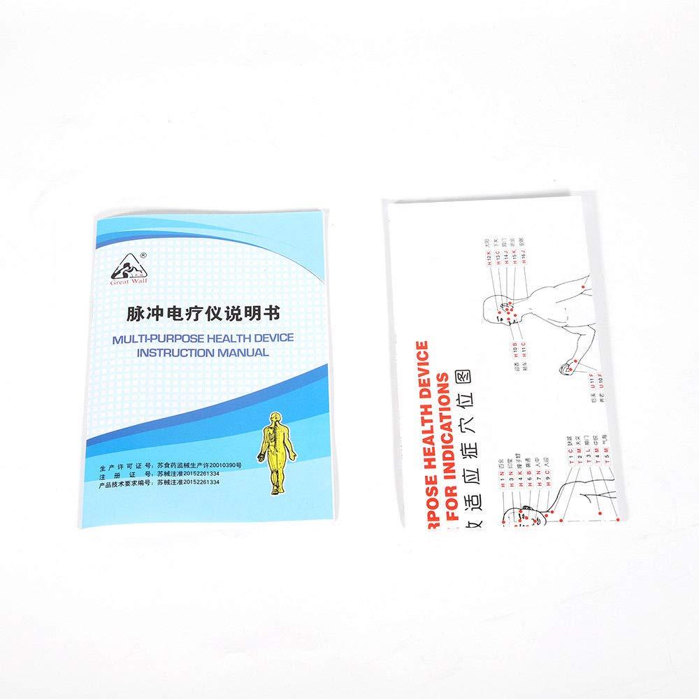 Amazon.com: Acupuncture Stimulator, Electric Acupuncture Stimulator Machine Massager Care 6 Output Patch 500-1000hpa (US Stock): Health & Personal Care