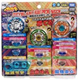 Takaratomy Beyblades #BB96 Japanese Metal Fusion Super Deck Set (Pegasis 85RF, Libra 100D, Burn Cancer 80WD)