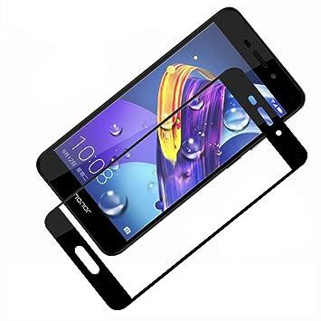 LOUQBH 3 Piezas de Vidrio Templado para Huawei Honor 6X 6A 6 6C ...
