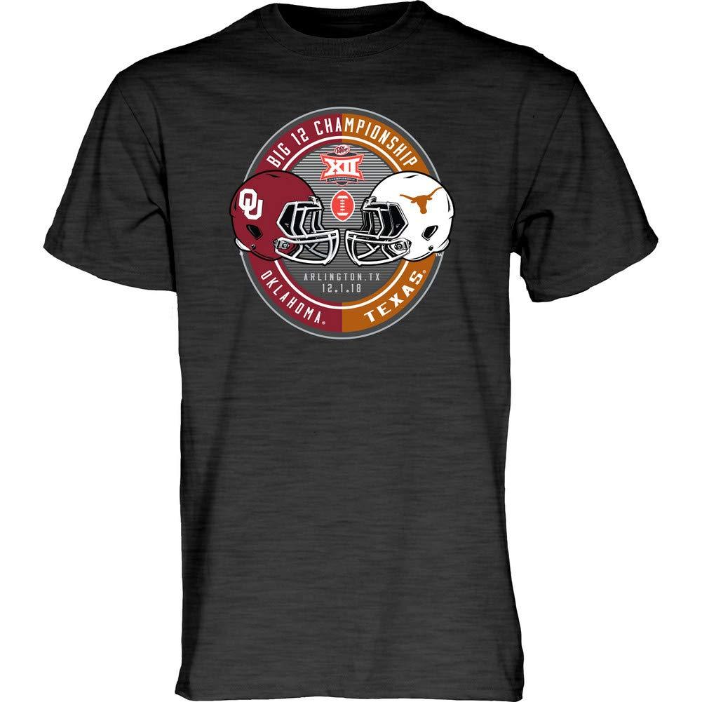 Oklahoma Sooners Big 12 Champs Tshirt 2018 Charcoal 8866