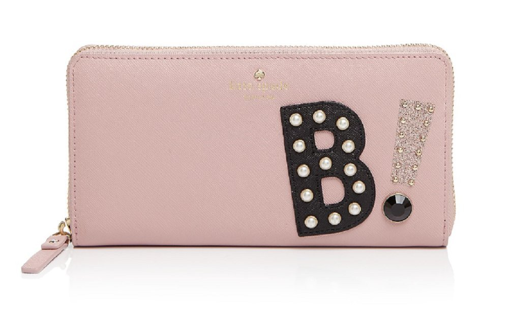 Kate Spade Hartley Lane Cassidy Letter Wallet , Pink Bonnet