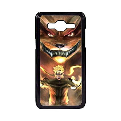 Amazon.com: La Naruto Anime duro Carcasa para Samsung Galaxy ...