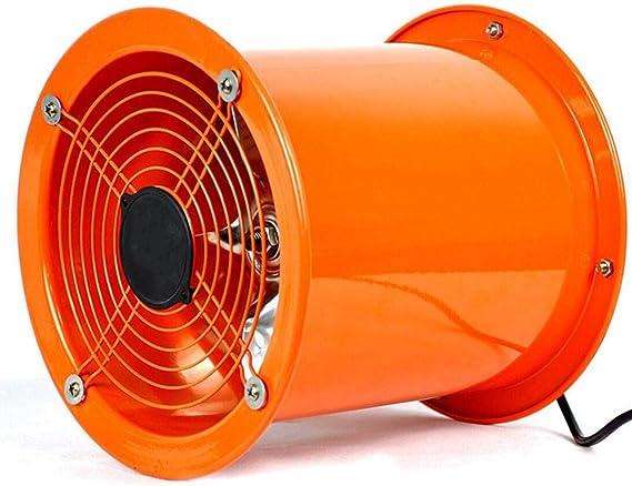 XGHW Ventilador utilitario Ventilador de Alta Velocidad Tubo de ventilación Extractor de Polvo de Humos Bajo Nivel de Ruido Gran Volumen de Aire Inodoros industriales/baños/cobertizos/talleres (8 pul: Amazon.es: Hogar