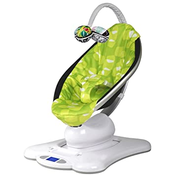 433eb8545 Amazon.com   4Moms MamaRoo (Green Plush)   Infant Bouncers And ...