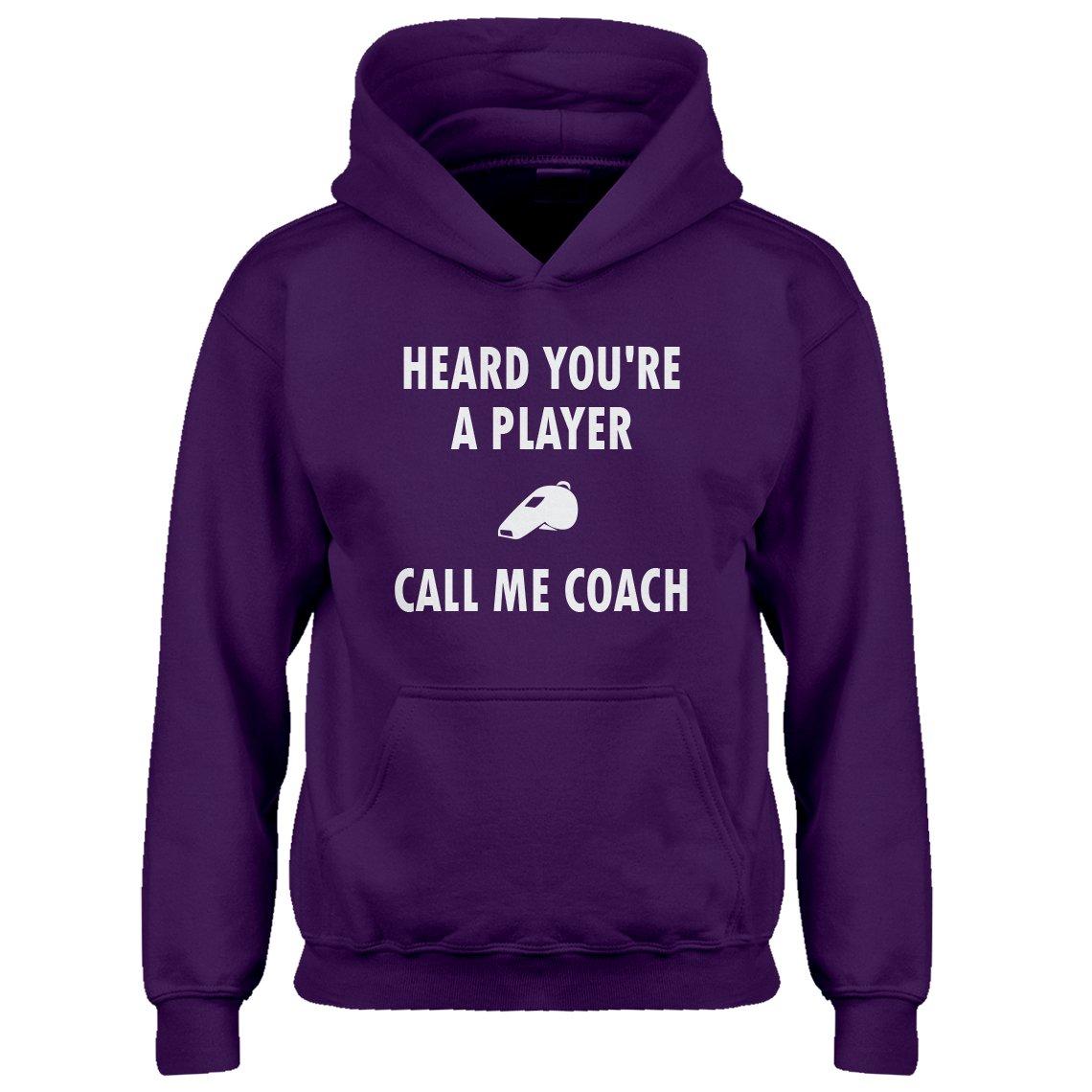 Indica Plateau Youth Call me Coach Kids Hoodie