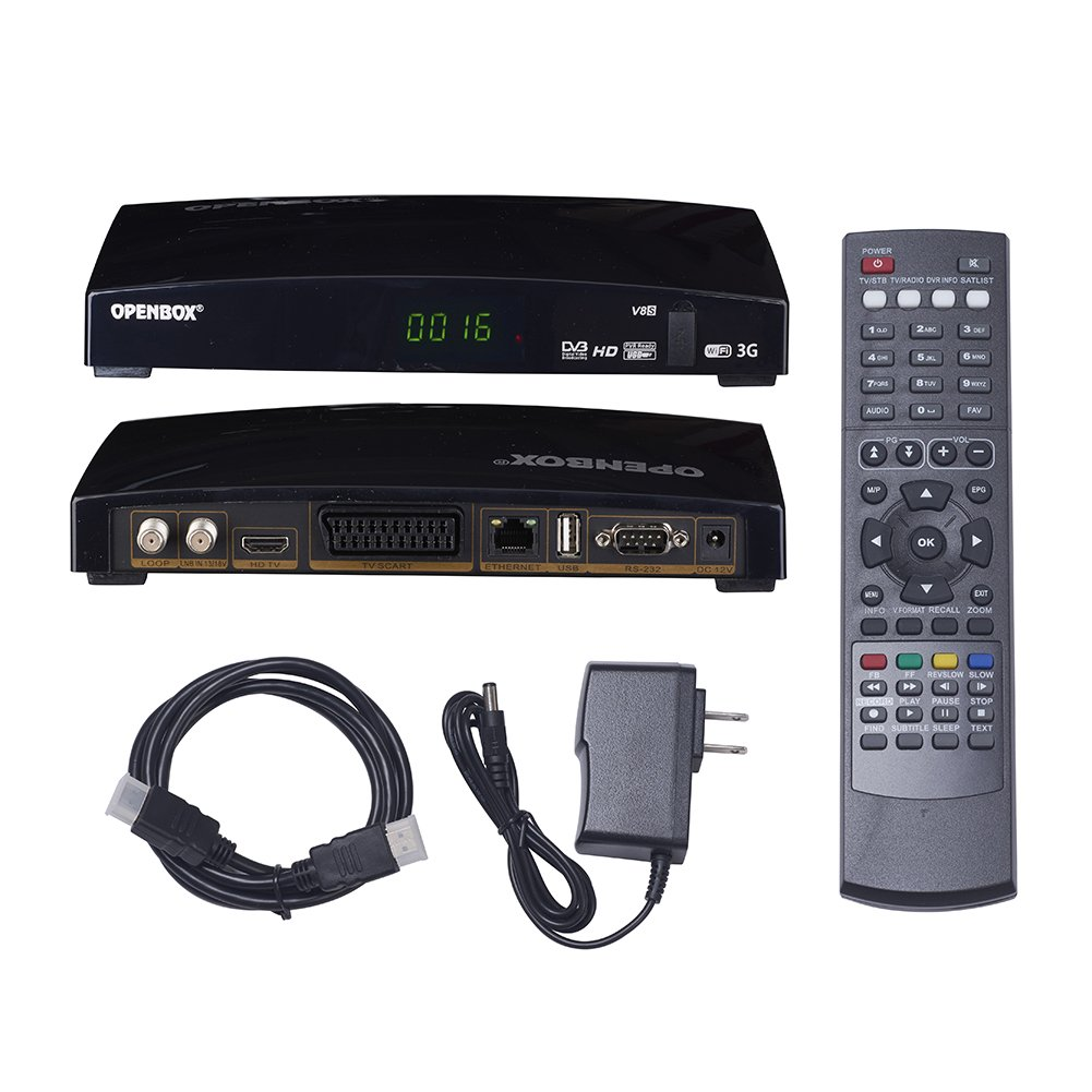 Satellite Receiver Set-Top Box, US Regulations,Skybox DVB Set-top Boxes (V8S)