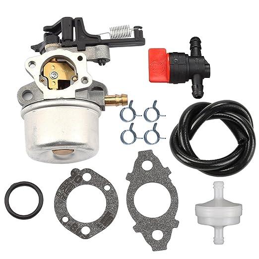hilom carburador + filtro de combustible válvula para Briggs ...