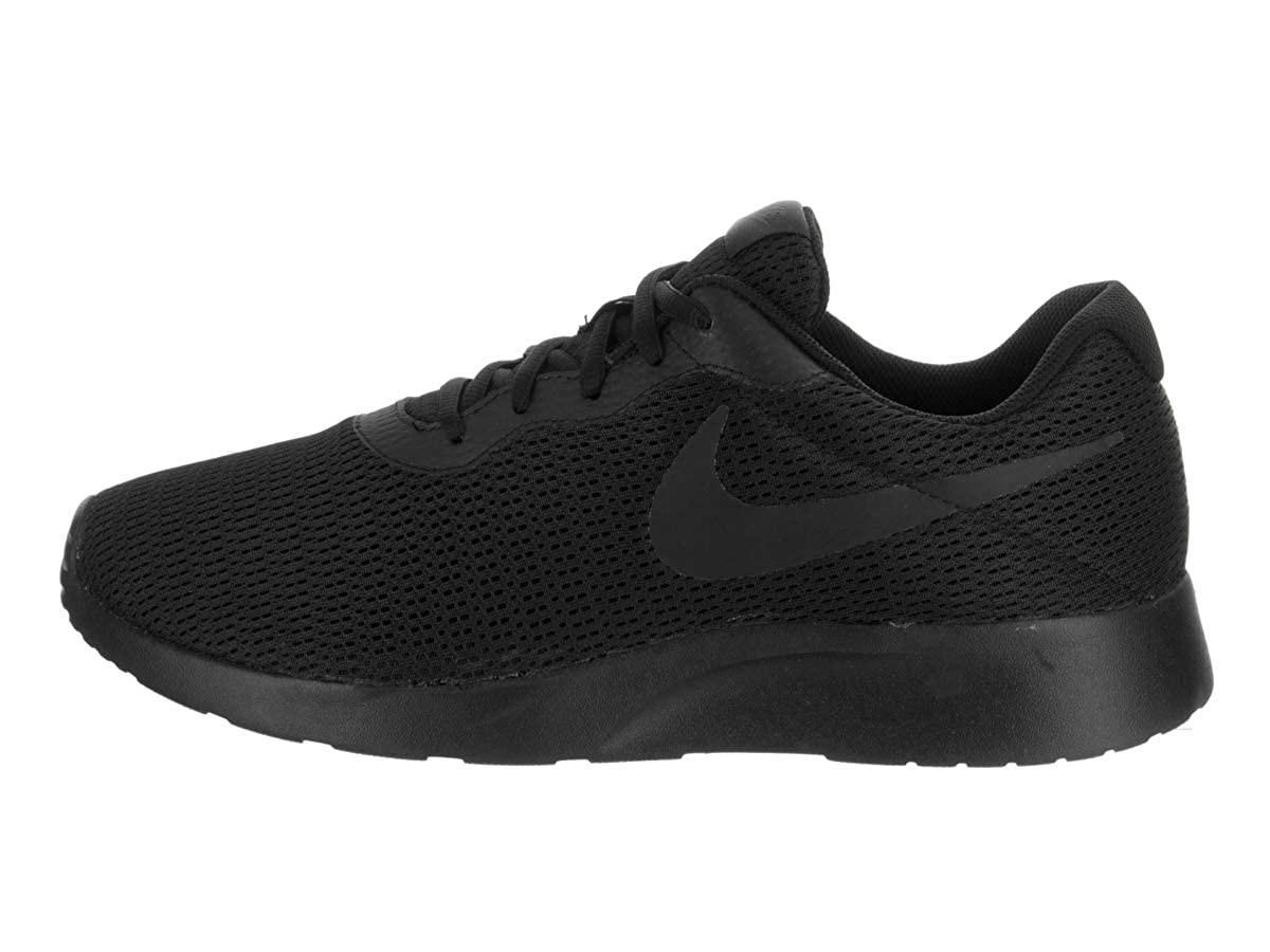 sports shoes f35a0 0e43f Amazon.com   Nike Men s Tanjun Wide (4E) Black Anthracite Black Running Shoe  (11 EEEE US)   Road Running