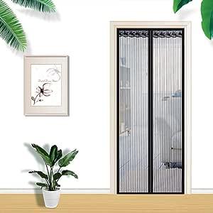 Cozywind Mosquitera Puertas Mosquitera Magnética Automático que Evita el Paso de Insectos para Puertas de Salón, Balcón, Corredo: Amazon.es: Bebé