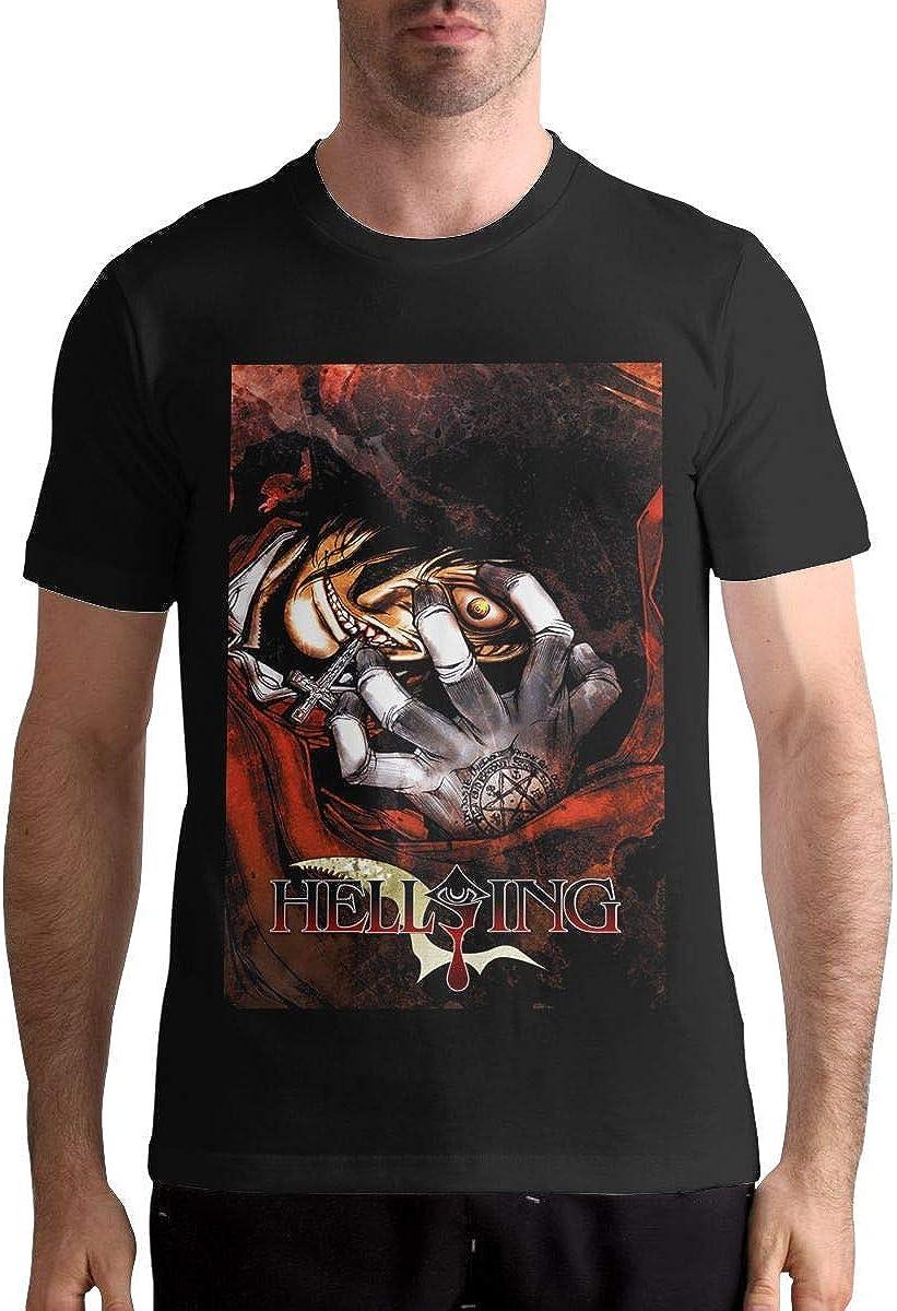 Shichangwei Hellsing Ultimate Mens Anime T Shirts