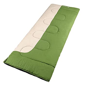 Kingcamp Confort XL saco de dormir – 200 * 90 cm/2kg – confort Optimum