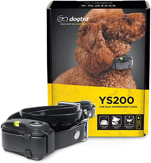Dogtra YS200 Replaceable Battery Waterproof Compact No Bark Collar