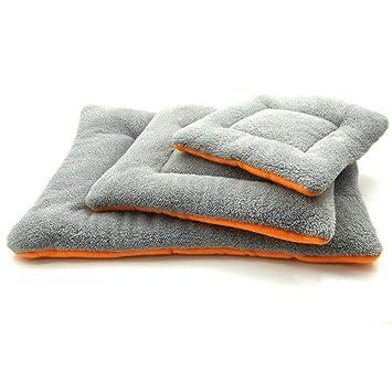 635 Cama para Perros Cuatro Temporadas Cordero Felpa Comodidad Aire Acondicionado algodón Mat Calor Nido Perro Alfombra de Cama de Gato: Amazon.es: Hogar