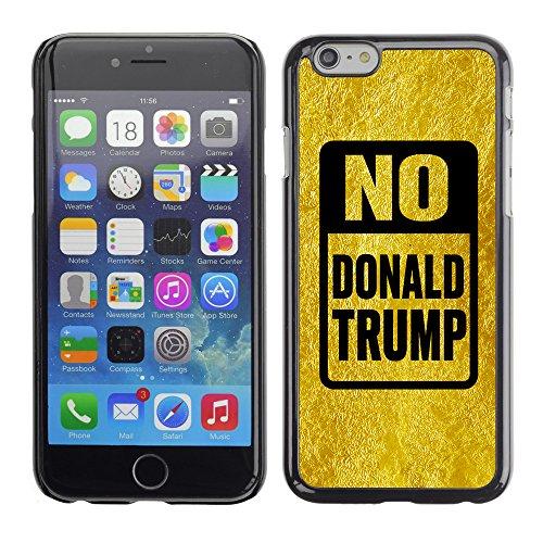 """Print Motif Coque de protection Case Cover // Q04150558 Stop Trump or froissé // Apple iPhone 6 6S 6G 4.7"""""""