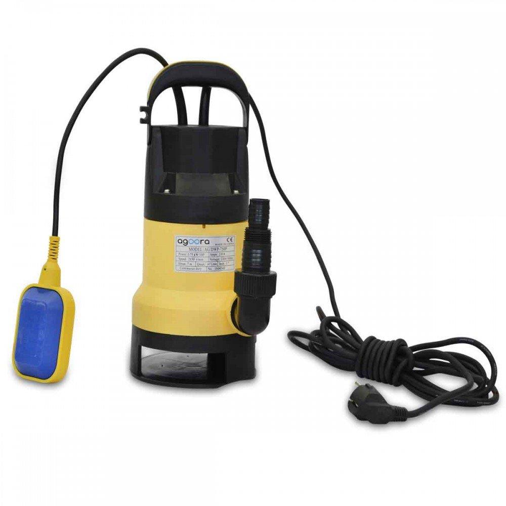 Bomba de Aguas Sucias Submergible 750W para Agua Sucia 150L/m con Interruptor Flotante: Amazon.es: Bricolaje y herramientas