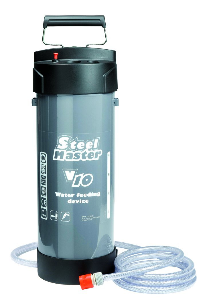 Gloria Wasserzuführgerät Stahl 10L SteelMaster V10