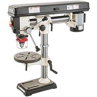SHOP FOX W1669 1/2-Horsepower Benchtop Radial Drill Press