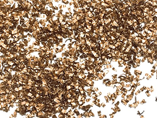 Metallic Copper Rose Gold Confetti Sprinkles Christmas Table Decor Wedding Decorations Throwing Confetti InsideMyNest (25 Handfuls)