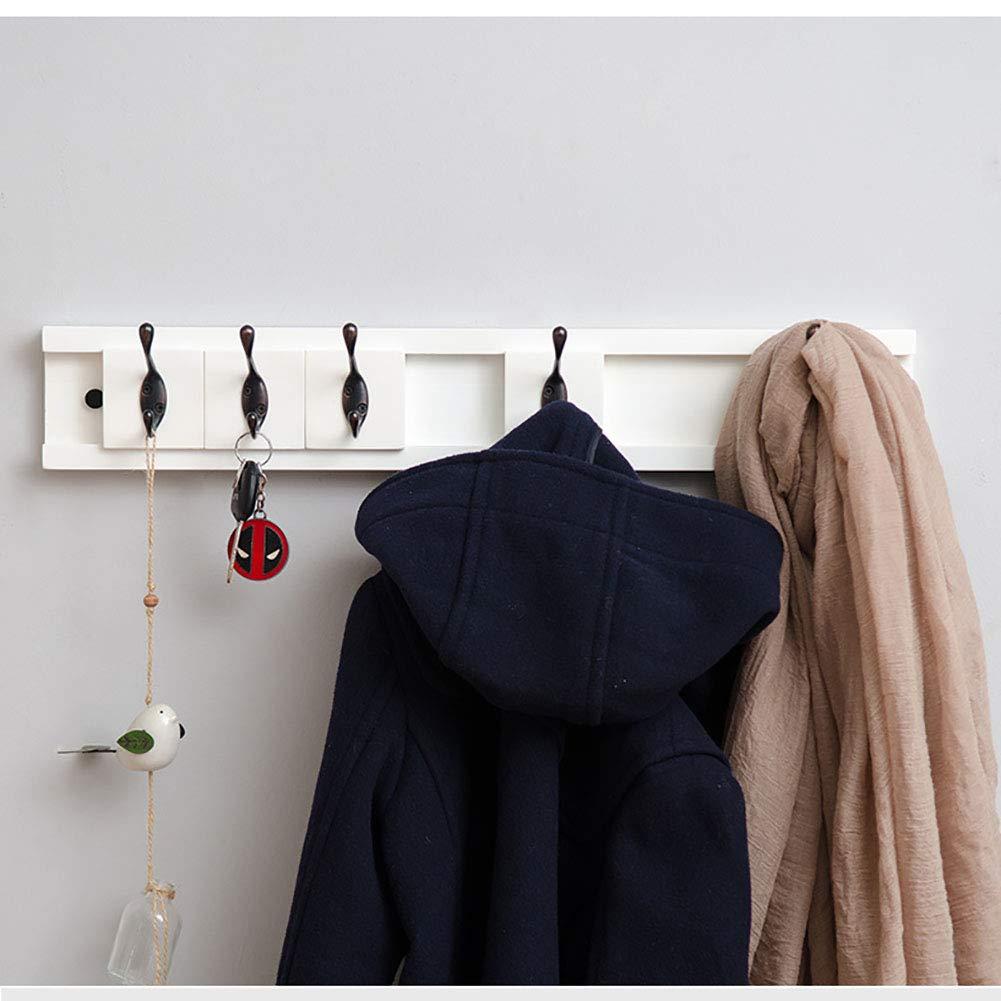 Amazon.com: Perchero de pared con gancho móvil para puerta ...