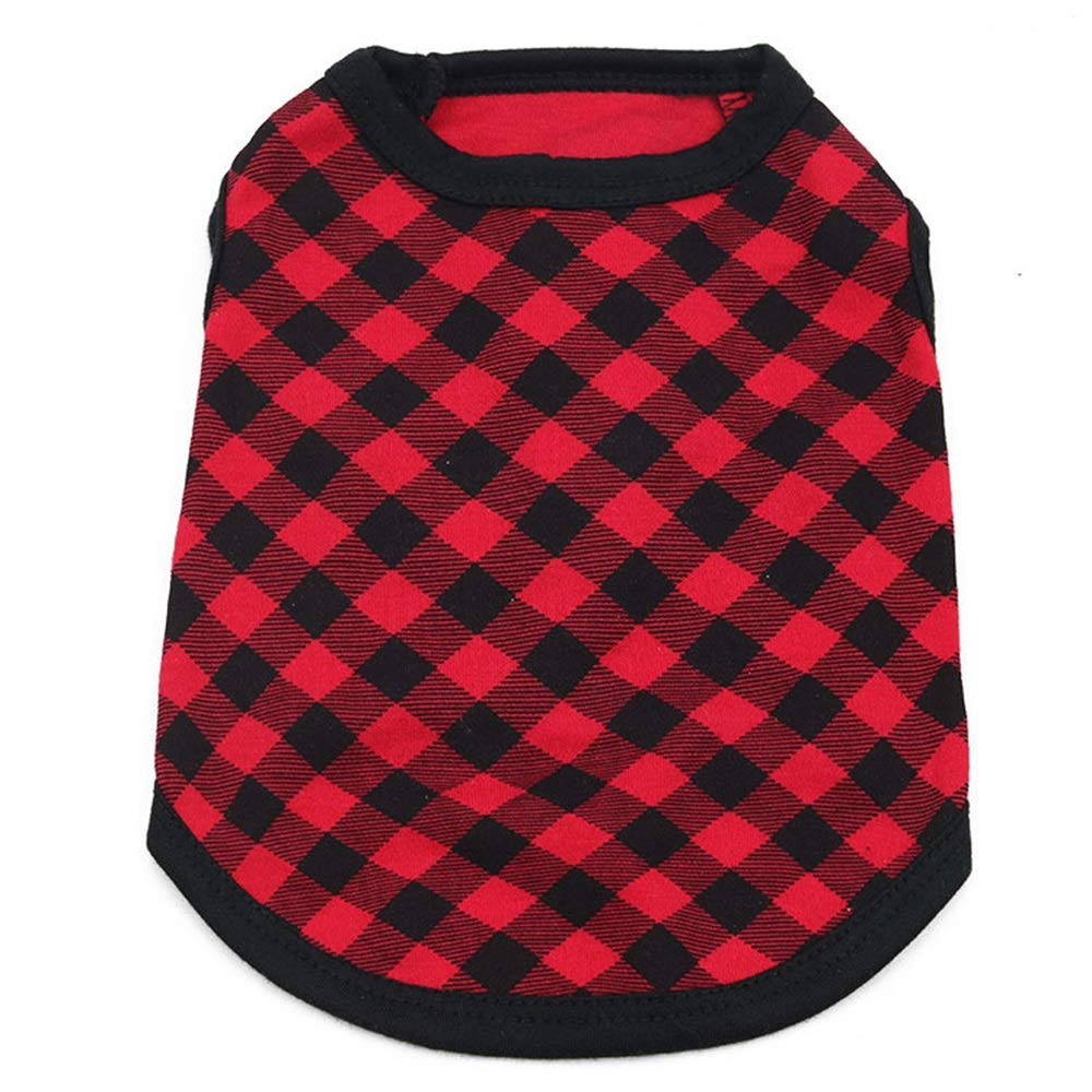 6 M 6 M AUSWIEI Dog Clothing Cotton Jersey Pet Vest (color   6, Size   M)