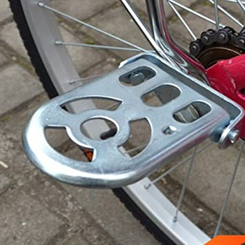 Zantec Pedal de bicicleta plegable de la extensión del metal de la bicicleta para el coche
