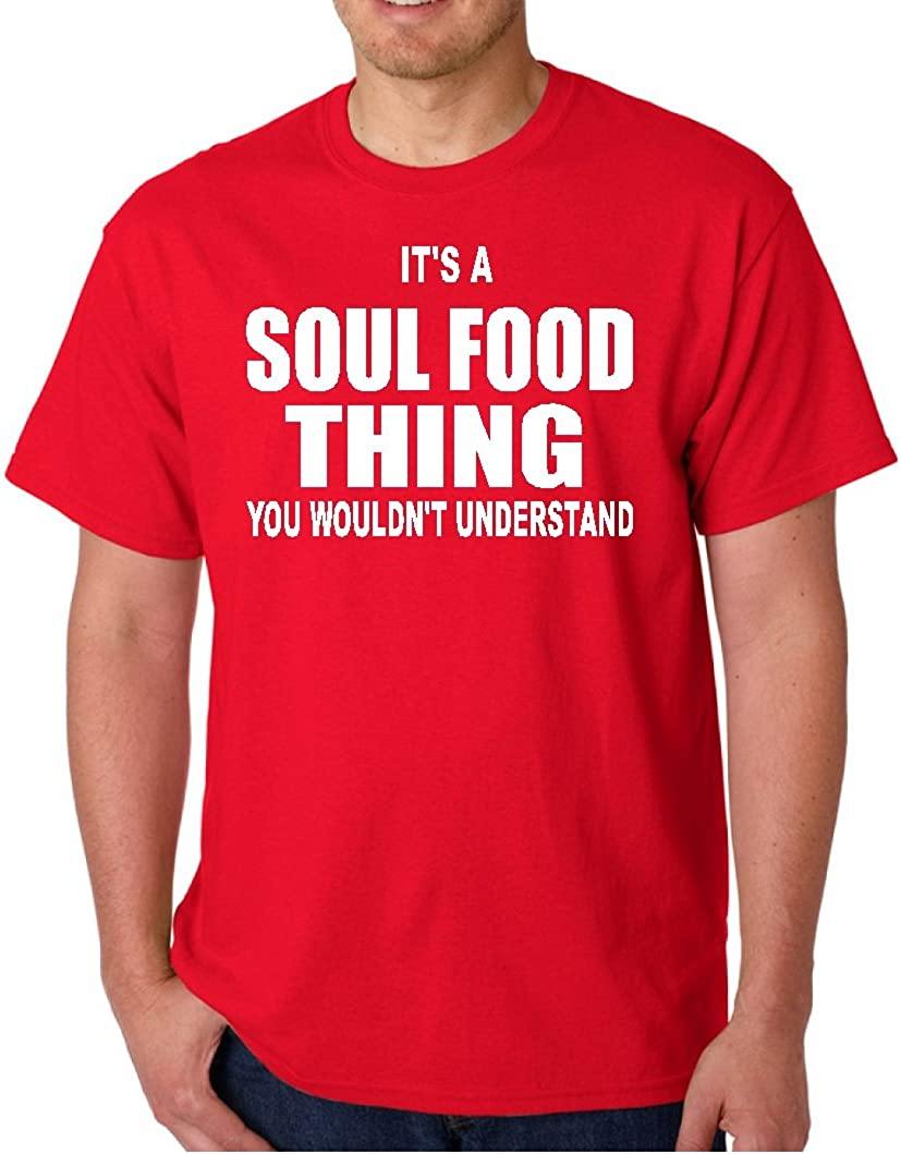Soul Food Thing RED T Shirt