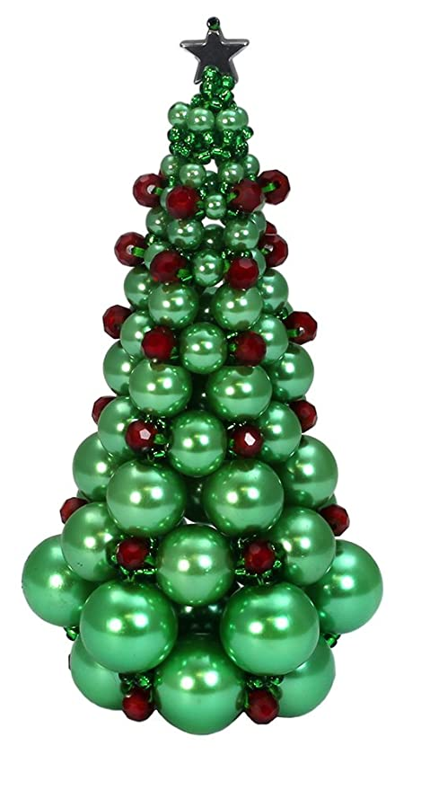 Jewellery making kit do it yourself beaded christmas tree green jewellery making kit do it yourself beaded christmas tree green solutioingenieria Image collections