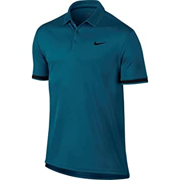 bbc1d24726 Nike NikeCourt Dri-FIT - Partes de Arriba de Ropa Deportiva para Tenis  (Camiseta