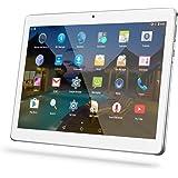 YUNTAB Tablet Pc 10.1 Zoll Tablet 3g- Android 5.1 Lollipop - Telefonieren - GPS- Navigation - Google play - 1GB RAM - 16GB - Dual kamera- battery 5000 mha - Bluetooth 4.0 (Silber)