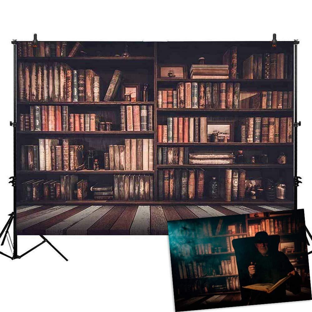 allenjoyポリエステル5 x 7ft写真の背景幕サンセットVineyard木製背景for Photo Studio 5ft by 7ft スタイル3 B072DXH452