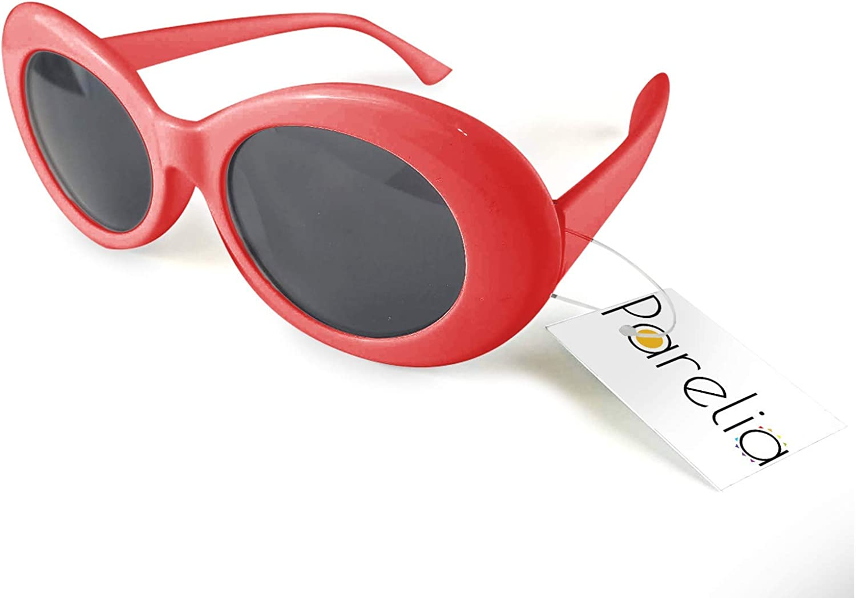Vintage Oval Kurt Cobain Style Designer Fashion Shade Small Mens Sunglasses