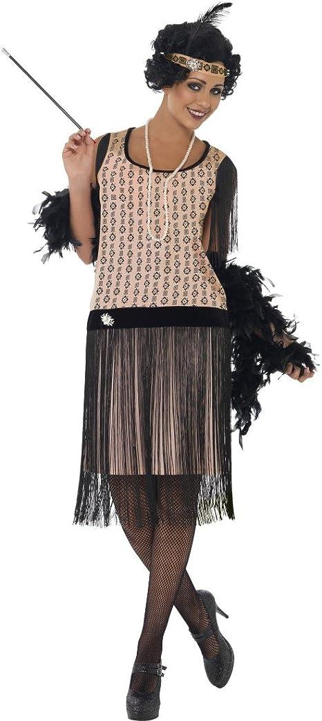 20er disfraz Charleston con flecos vestido años vestido de ...