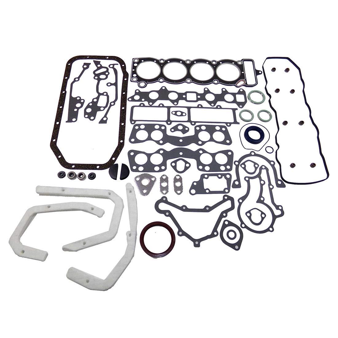 Corona DNJ Full Gasket//Sealing Set FGS9002// For 75-80 Toyota// Celica Pickup 2.2L L4 SOHC Naturally Aspirated designation 20R