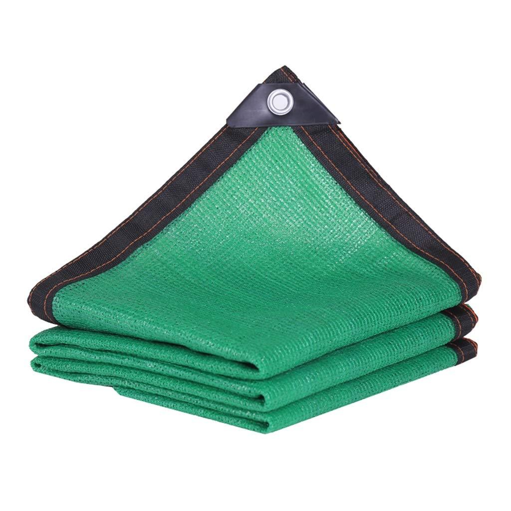 グリーンシェードネット、パティオドアと窓のバルコニー日焼け止めブラックエッジ90%シェーディングレート長方形 (Color : Green, Size : 8*8M) B07TNRMP3X Green 8*8M