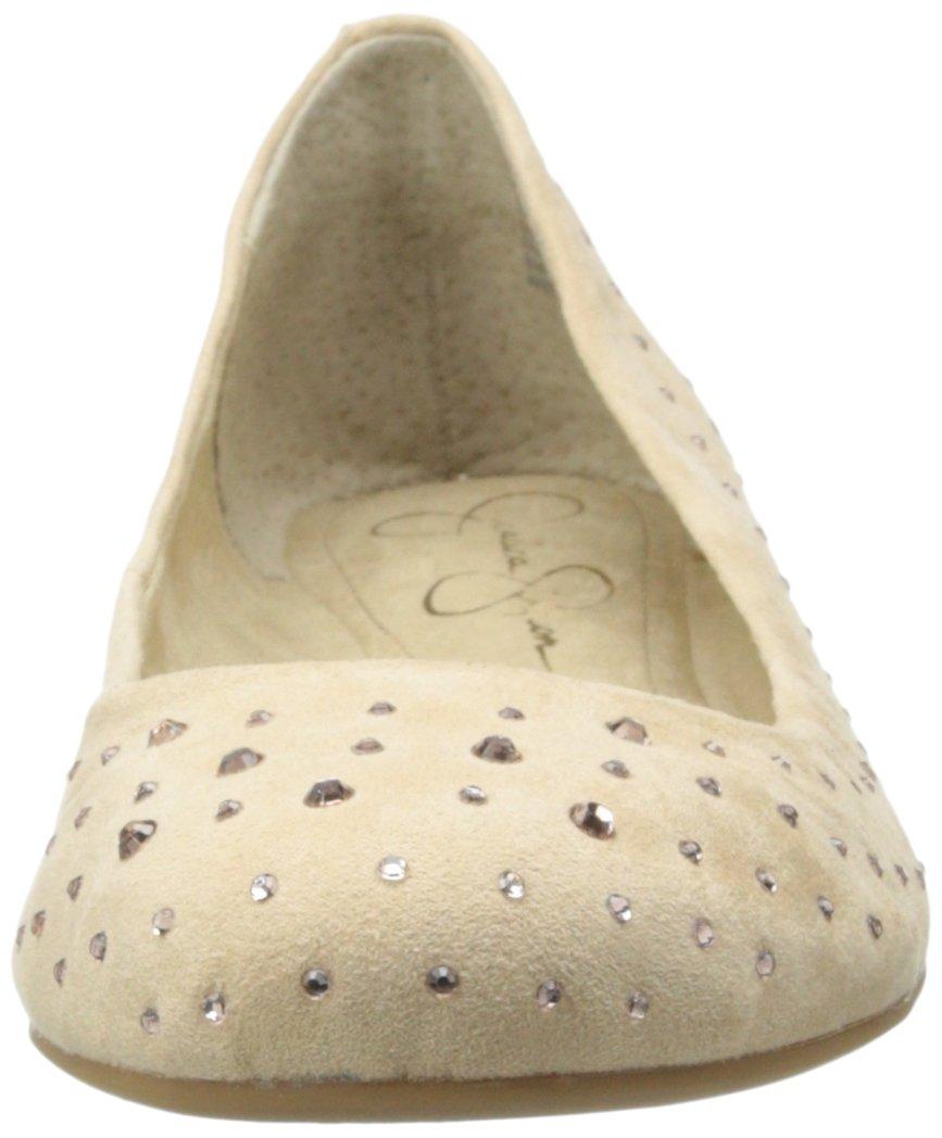 Jessica Simpson Women's Mikia Ballet Flat B00K8PZI36 11 B(M) US|Bisque