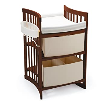 Stokke Care Changing Table, Walnut Brown