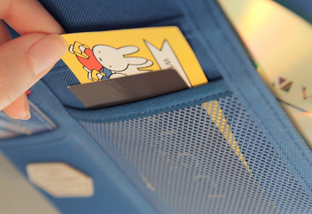 Auto parasol funda coche organizador de CD Funda Bolsa Multifuncional para Tel/éfono M/óvil Tarjetas de Visita TARJETAS de cr/édito Veh/ículo documentaci/ón.