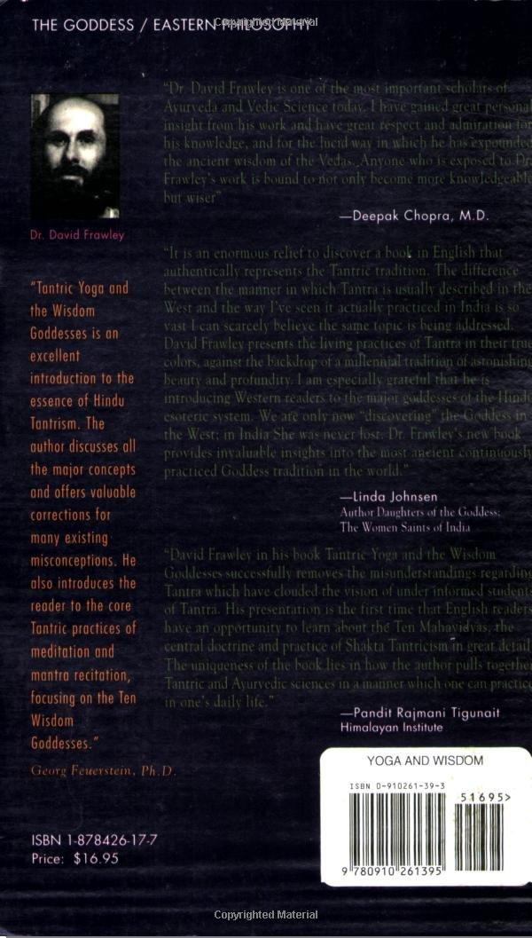 Tantric Yoga and the Wisdom Goddesses (Spiritual Secrets of ...