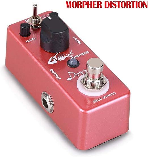 Mini Guitarra efecto pedales distorsión Overdrive estribo Fuzz ...