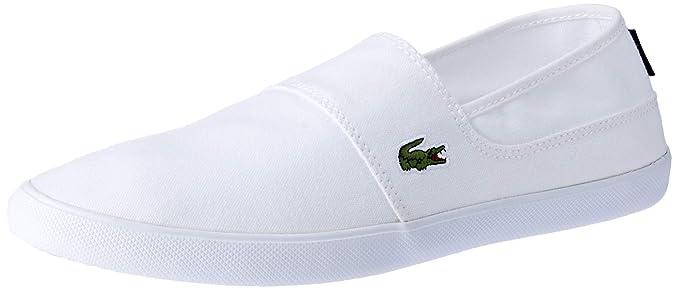 17d8f2189e7f Amazon.com  Lacoste Mens White Marice BL 2 CAM Trainers  Shoes