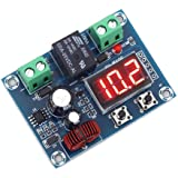 IS Icstation Digital Low Voltage Protector Disconnect Switch Over Discharge Protection Module for 12-36V Lead Acid…