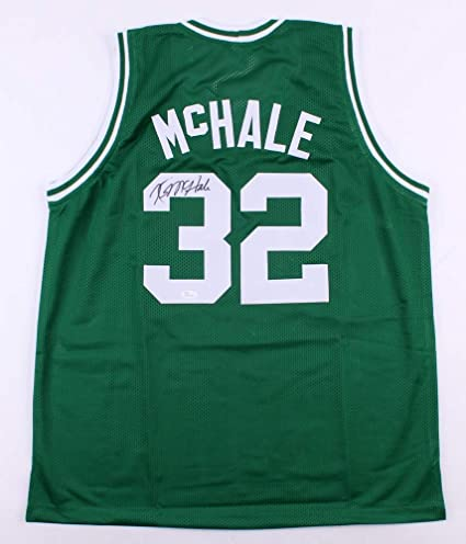 Kevin McHale Autographed Green Boston Celtics Jersey - Hand Signed By Kevin  McHale and Certified Authentic 58738fc51561