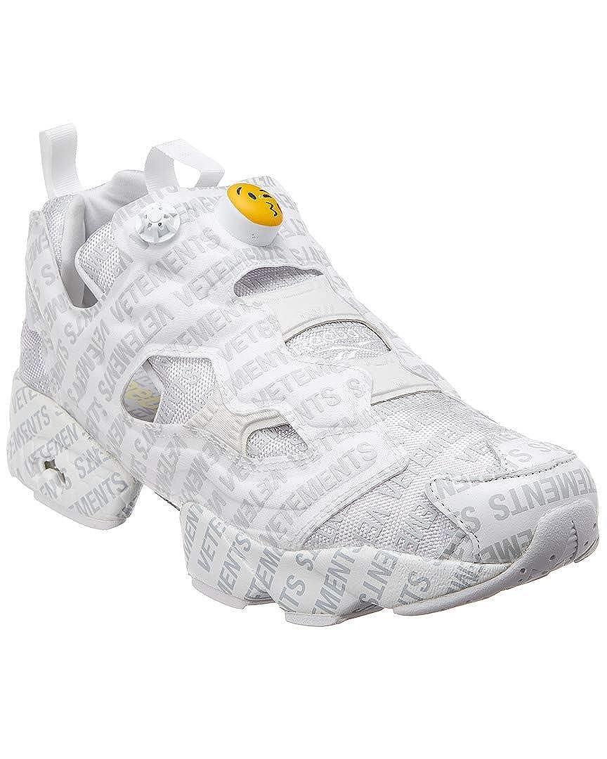 new style bdd36 70632 Amazon.com | Vetements Mesh Slip-On Sneaker, 43, White | Running