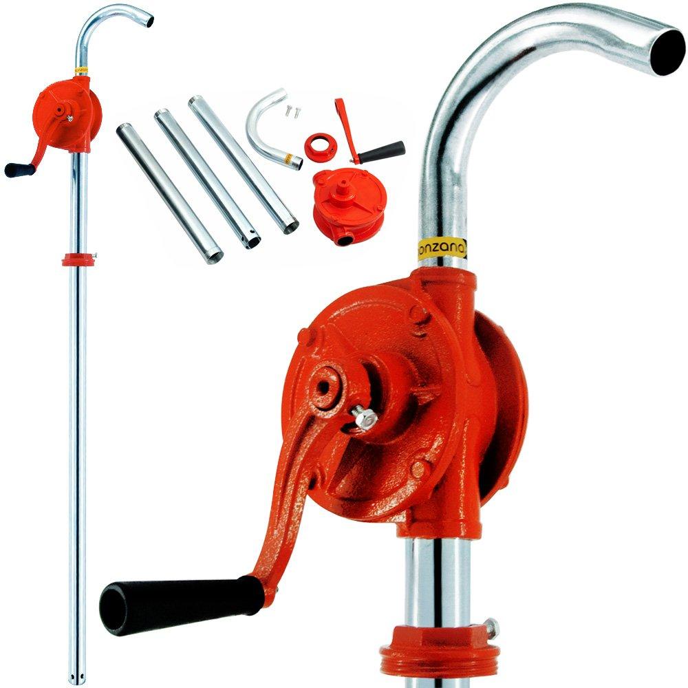 Pompa a manovella per trasvasare diesel, gasolio da riscaldamento 30l/m Deuba