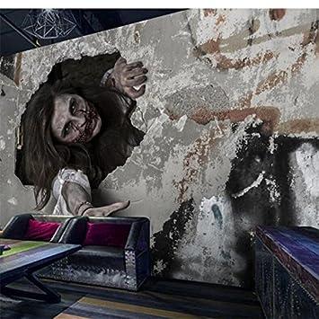 Mbwlkj Personnalisé 3d Papier Peint Photo Mural Mystérieux Horreur