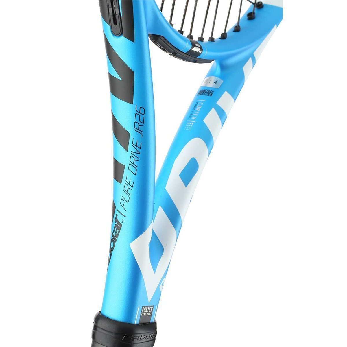 Amazon.com : Babolat Pure Drive 26 Junior Blue/White Tennis Racquet Strung with Custom Racket String Colors : Sports & Outdoors