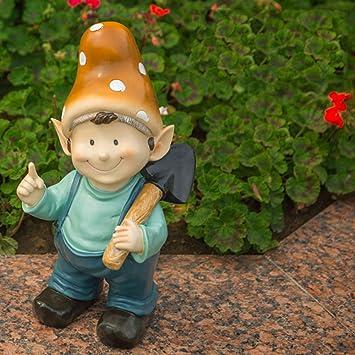 Figura Decorativa para jardín Estatuilla De Personaje Resina Impermeable Jardín Estatua Para Jardín Decoración De Césped Regalo (A B C D E) A:19 * 17 * 40cm: Amazon.es: Bricolaje y herramientas